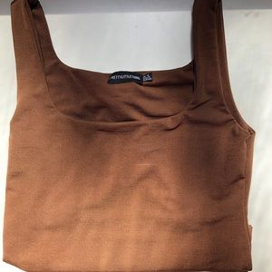 Chocolate Brown Body Suit